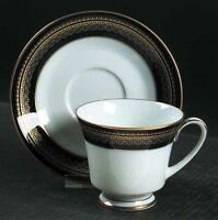 "NORITAKE ""LEGACY"" VIENNA 2796 , 6 TABLE SETTING DINNER WARE"