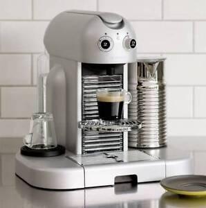 NESPRESSO Coffee Machine - Gran Maestria Silver -Top of The Range Melbourne CBD Melbourne City Preview