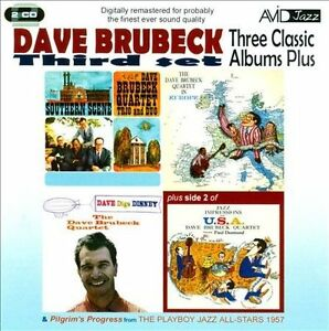 Dave Brubeck Three Classic Albums Plus-Third Set NEW 2-CD Disney Southern Scene - $6.99