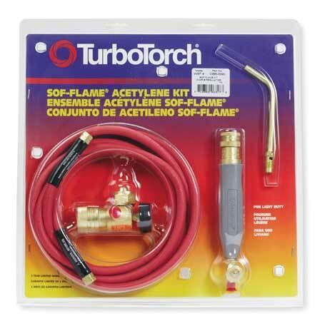 Turbotorch 0386-0090 Air/Acetylene Kit, Wsf-4 Series, Acetylene
