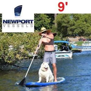 NEW NEWPORT STAND UP PADDLE BOARD 22M1100003 243717890 MENS 9 VESSELS UMAMI WHITE BLUE