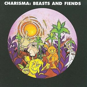 CHARISMA - Beasts And Fiends - SEALED NEW 1970 Psych CD - Wounded Bird