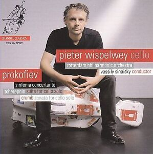 Pieter Wispelwey: Prokofiev, Tcherepnin, Crumb (SACD, CD, 2009) cello works, new