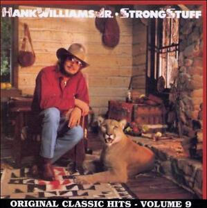 Strong Stuff By Hank Williams, Jr. Vinyl, Curb Classic Record - $9.80