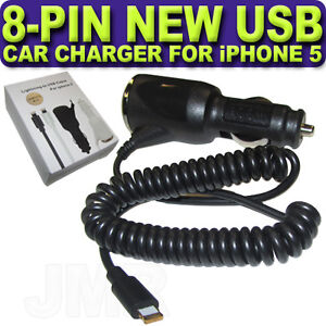 New In Car Charger For Apple iPhone 5