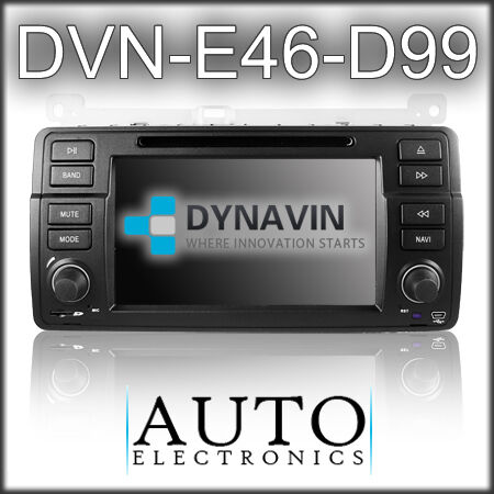 Dynavin DVN E46 CD/DVD/Navigation/Bluetooth for BMW E46 on