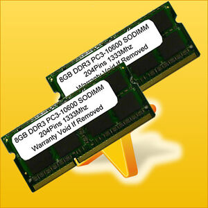 NEW-16GB-2-x-8GB-DDR3-1333MHz-204pin-Sodimm-PC3-10600-LAPTOP-Memory-16-GB-1333