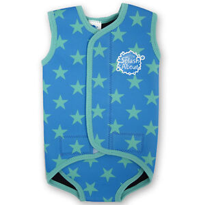 Splash About Baby Wrap Wetsuit - keeps baby warm in water