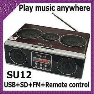 NEW-mini-portable-Sound-box-MP3-player-Mobile-Speaker-SD-USB-FM-Radio-SU12