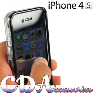NEW STYLISH CLEAR TOUCHABLE FRONT & BACK FULL BODY HARD CASE FOR IPHONE 4 4G 4S