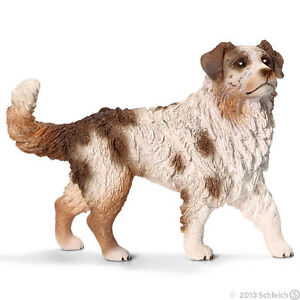 Schleich #16392 NEW Australian Shepherd Female, Toy Collectible Dog