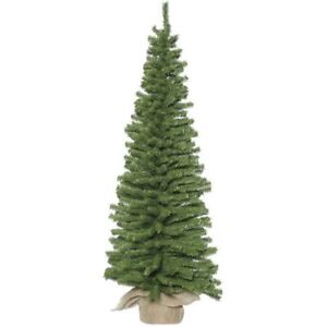 "VICKERMAN UNLIT 48"" PINE ARTIFICIAL CHRISTMAS TREE- mnx"