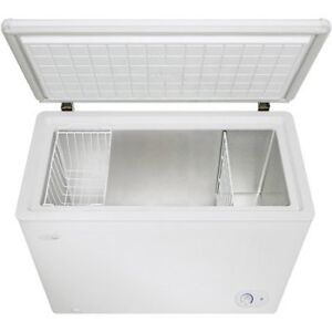 Almost new Danby Designer 8.7 CuFt Freezer for sale - DCFM246WDD