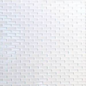 ON HUGE SALE SUPER WHITE GLASS MOSAIC IN CLEAR AND FROSTED GLASS