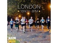RUN IN THE DARK LONDON 5K AND 10K OPTION