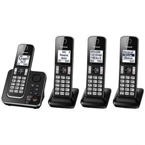Téléphones sans-fil Panasonic 3 combinés