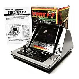 Vintage Grandstand Firefox F-7 Electronic Space Action Game, £90