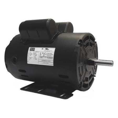 Weg 12882730 Air Compressor Motor,5 Hp,Frame 56H