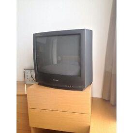 SHARP old style tv