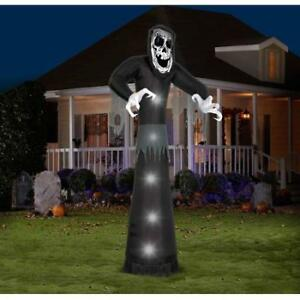 10' AIRBLOWN INFLATABLES GIANT BECKONING REAPER HALLOWEEN DECORA