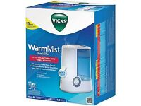 Humidifier Vicks warm mist