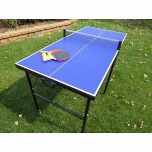 """BlueWave Products TABLE TENNIS NG2305P Crossover 60"""" Portable Table Tennis"""
