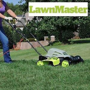 """NEW LAWNMASTER ELECTRIC MOWER - 113741179 - 10A 18"""" Electric 2-in-1"""