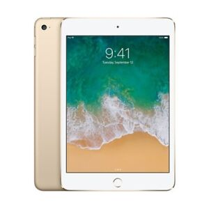 iPad Mini 4 16GB Gold with AppleCare+ and Otterbox Defender Case