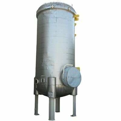 4000 Gallon Vertical Carbon Steel Pressure Tank 78 Id X 17-10 Oaht Unused