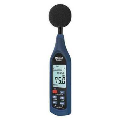 Reed Instruments R8080 Sound Level Meter Datalogger With Bargraph 30 To 130 Db