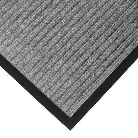 NOTRAX 117S0046GY Carpeted Entrance Mat,Gray,4ft. x 6ft.