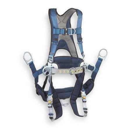 3M DBI-SALA 1108650 ExoFit Tower Climbing Harness, S 420 lb.