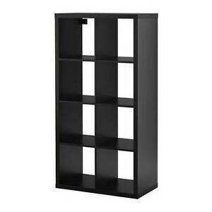Kallax Expedit Ikea Storage Unit 2x4 with drawers and baskets
