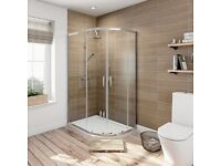 Brand New Shower Enclosure,Tray,BTW Toilet Pan & Cabinets See description for full list & details