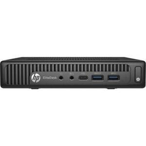 HP EliteDesk 800 35W G2 Desktop Mini PC- 8 GB RAM - 128 GB SSD - Under HP WARRANTY
