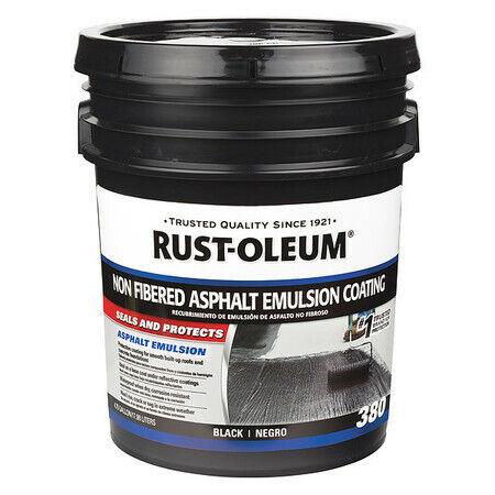 Rust-Oleum 301998 Roof Coating,4.75 Gal.,Black
