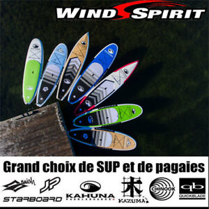 SUP, Stand Up Paddle, Planches à pagaie, GONFLABLE, RIGIDE