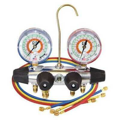 Jb Industries 25233 Manifold Gauge 4-valve Gauge Accuracy -3-2-3