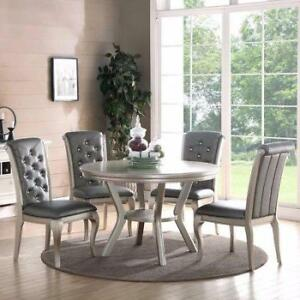 Infini Furnishings Adele 5 Piece Dining Set NEW