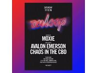 Moxie pres. On Loop with Avalon Emerson & Chaos in the CBD