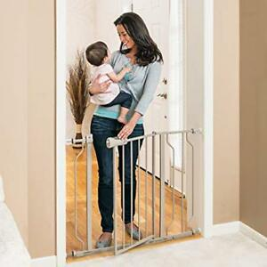 Evenflo Easy Walk Thru Metal Doorway Gate - Pressure mounted