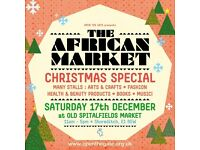 THE AFRICAN MARKET - CHRISTMAS SPECIAL