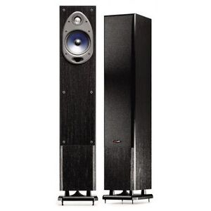 a -POLK Audio Floorstanding speakers with DUAL powered sub