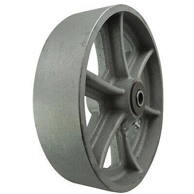 Zoro Select 26y441 Caster Wheelcast Iron8 In.1800 Lb.