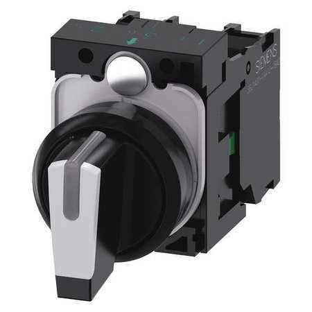 SIEMENS 3SU1100-2BL60-1NA0 Non-Illuminated Selector Switch,22mm Sz