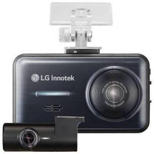 """LG 2-Channel Full HD 1080p 3.5"""" LCD Screen with Vehicle Start A"""