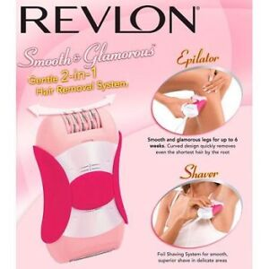 Epilator/Shaver 2-in-1 Hair Removal System. (New)