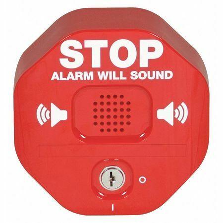 Safety Technology International Sti-6400 Exit Door Alarm,Annunciation,95 To