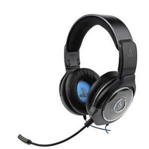 PDP Afterglow 051-077-NA-BK AG 6 Over-Ear Noise Cancelling Gaming Headset for PS4 (Open box)