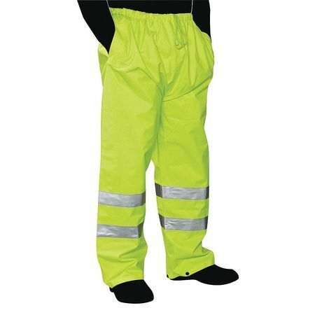 Zoro Select C16920g X5 Rain Pants,5Xl,Green,Unisex